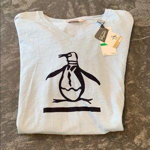 Original Penguin V-Neck Tee. NWT.